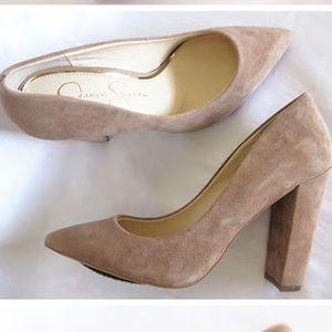 Jessica Simpson Tanysha block-heel pumps